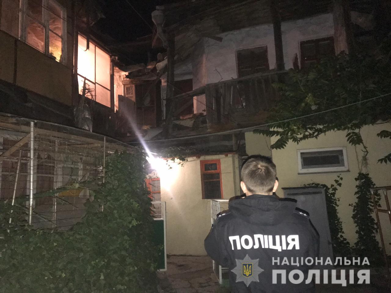 В Одесі обвалився будинок