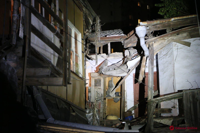 В Одессе обрушился дом