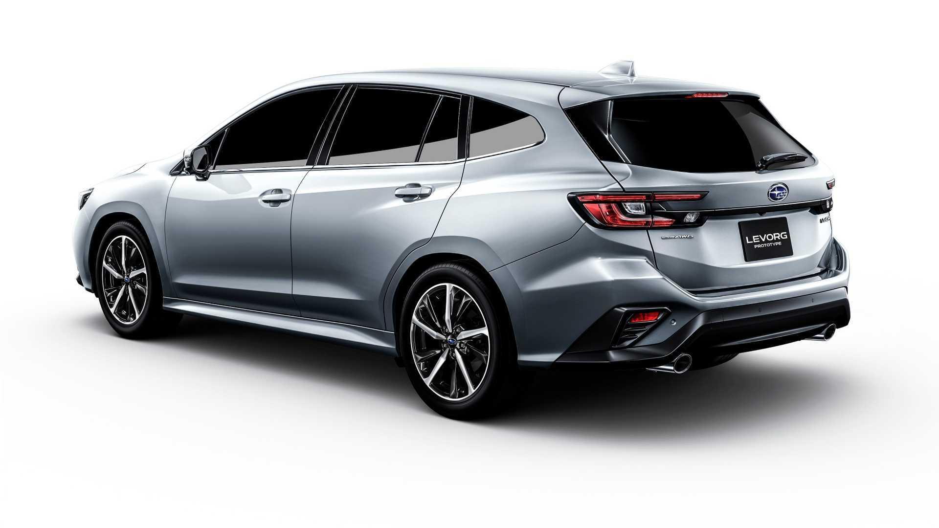 Концепт Subaru Levorg
