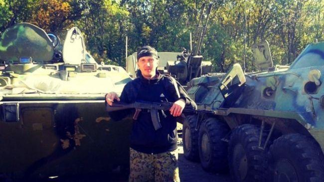"Террорист ""ДНР"" Евгений Щербак"