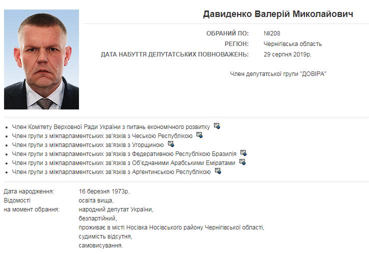 Нашла уборщица: стало известно о подробностях гибели нардепа Давыденко