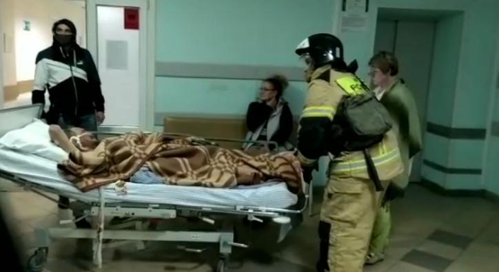 Пожар в больнице Зеленодольска