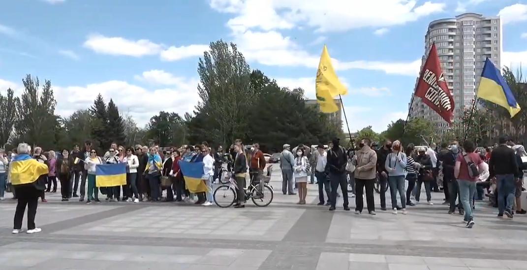 """Акция """"Стоп реванш"""" в Николаеве"""