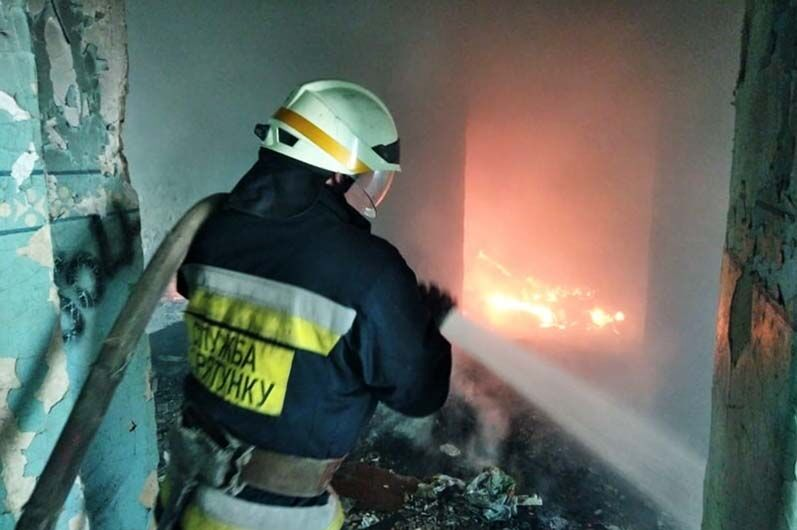 Пожежа в Дніпрі