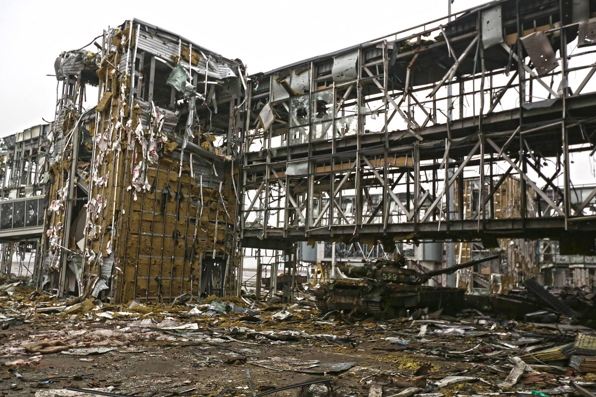 Разрушенный аэропорт
