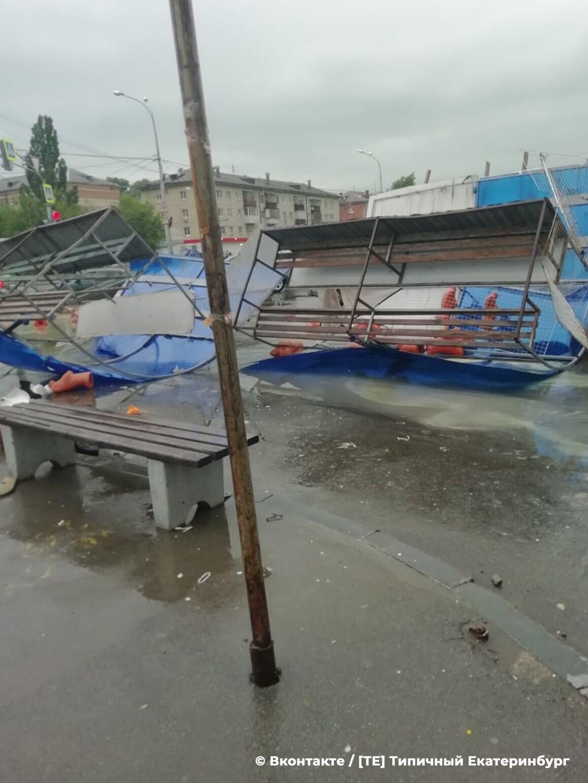 По России пронесся смертельный ураган