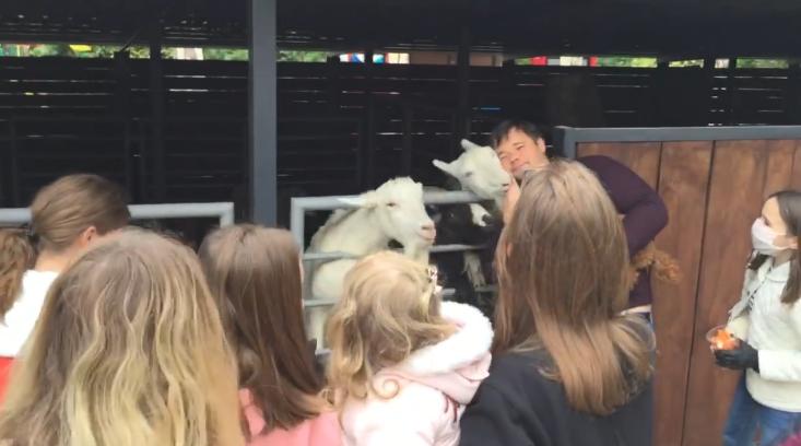 Богдана заметили в киевском зоопарке