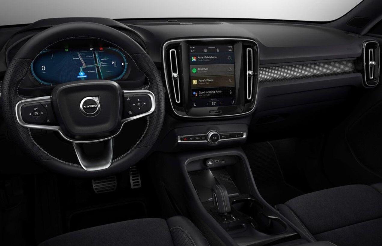 Кроссовер Volvo XC40 Recharge – первый серийный электромобиль компании