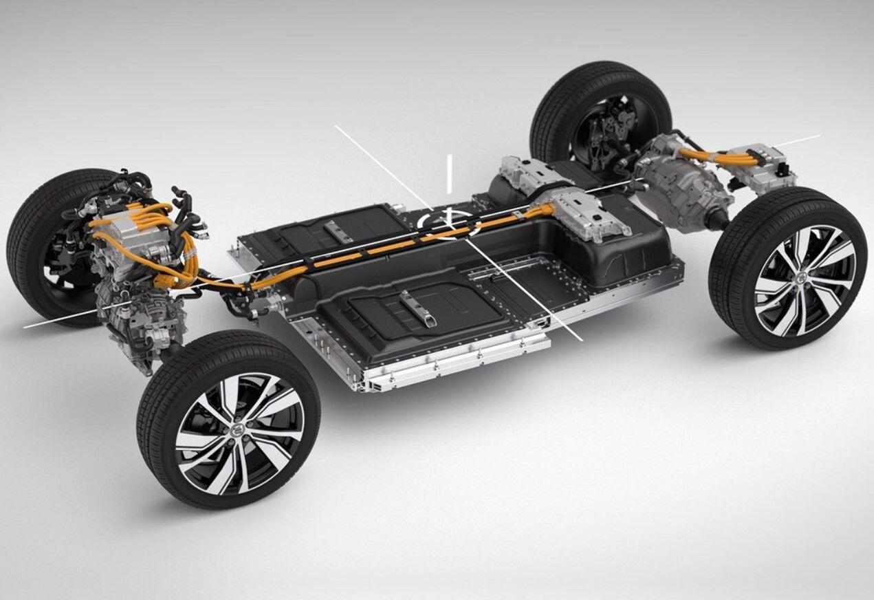 Электромобиль Volvo XC40 Recharge способен проезжать до 500 км