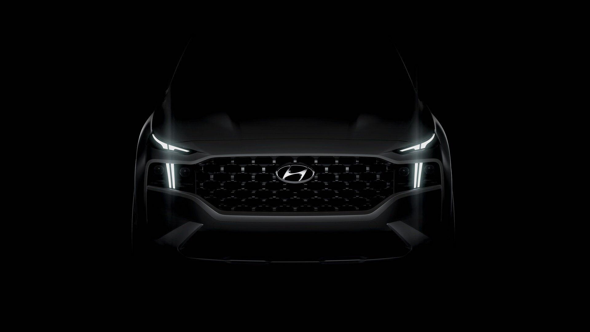 Новый кроссовер Hyundai Santa Fe 2021