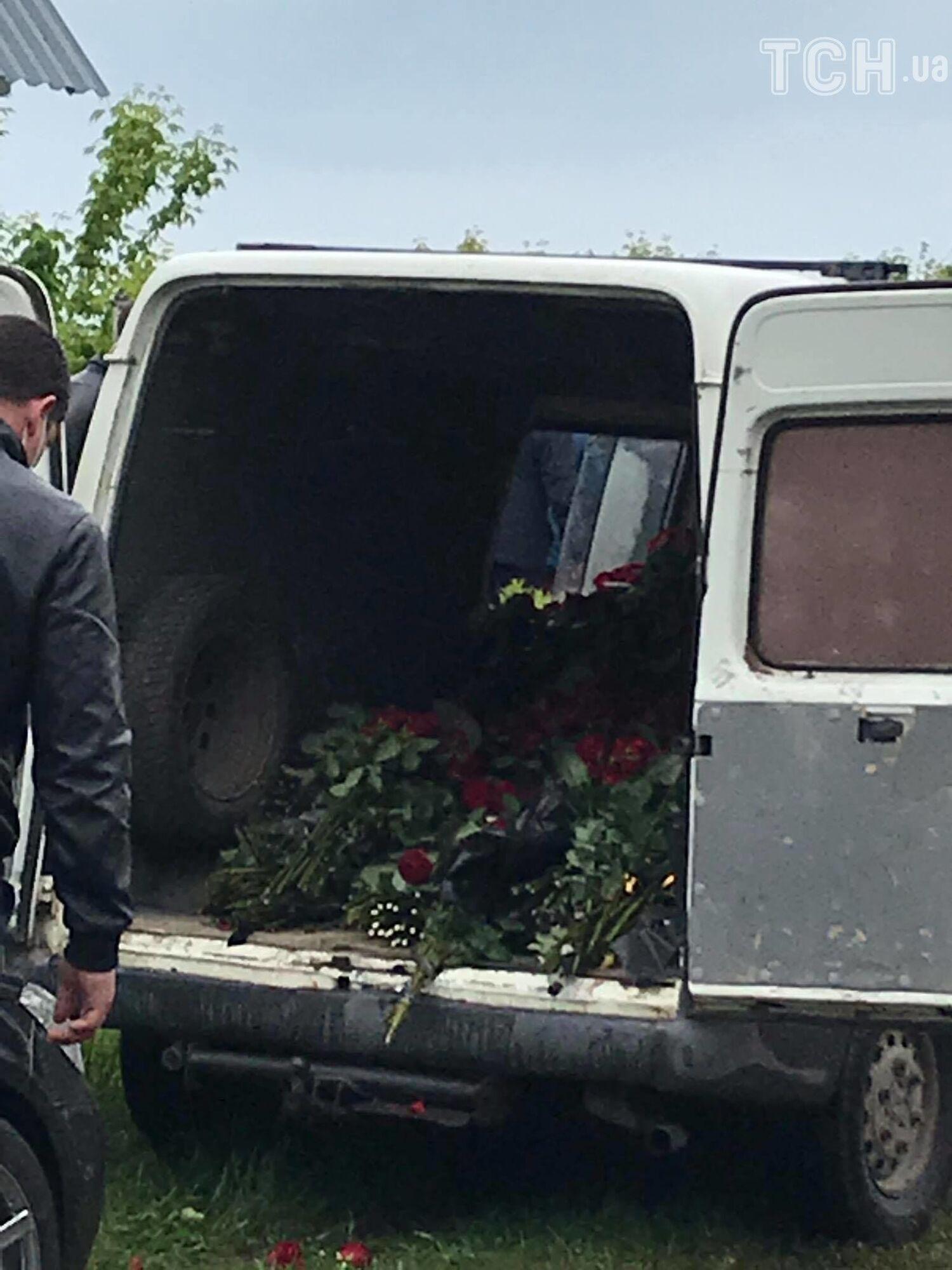 Прощание с нардепом Давыденко на Черниговщине