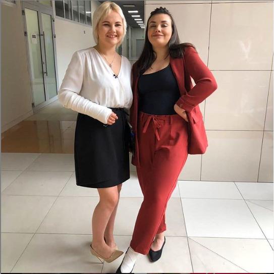 Катерина Большакова і Євгенія Мазур