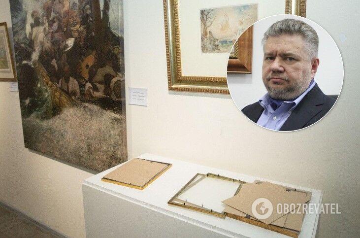 Головань розповів подробиці силового захоплення Музею Гончара