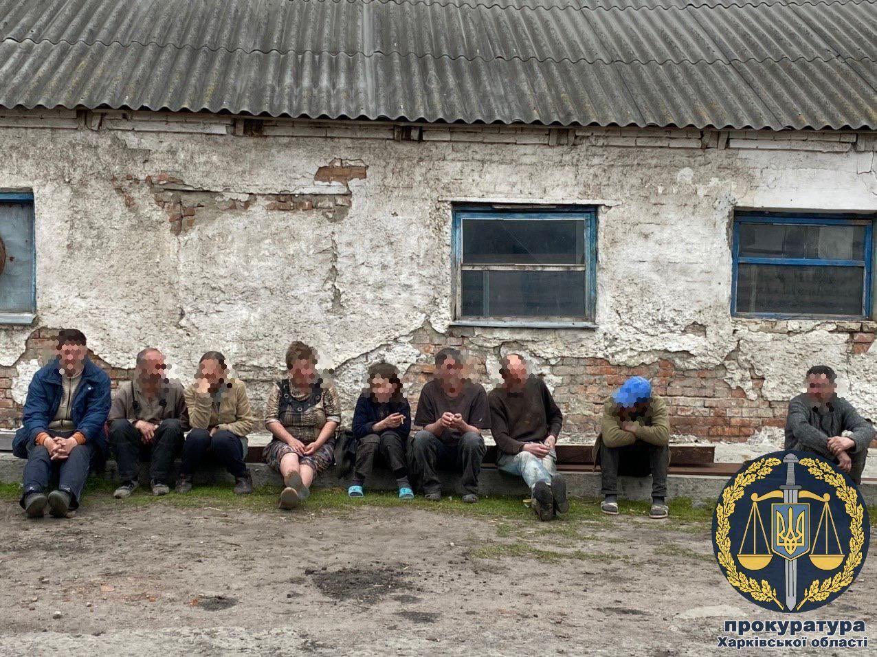 На Харківщині з рабства звільнили 9 осіб