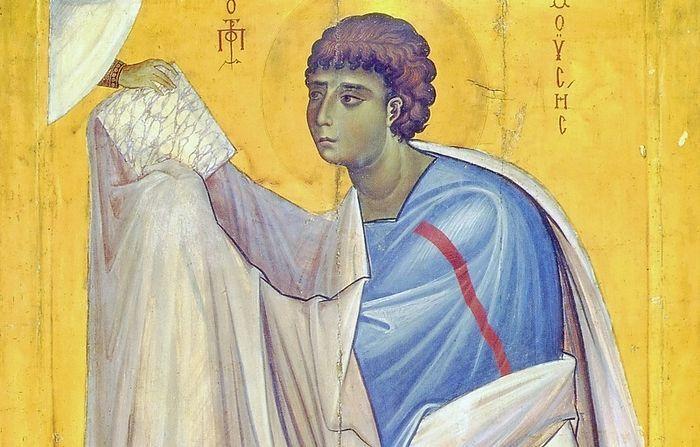 Мойсей отримує Скрижалі Заповіту, Синай, монастир Святої Катерини