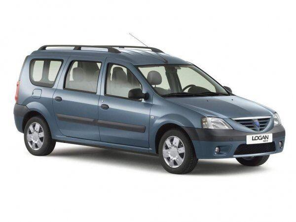Dacia Logan MCV (Renault Logan MCV) впервые появилась в 2006