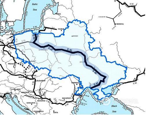 Проект Е-40 может уничтожить украинское Полесье