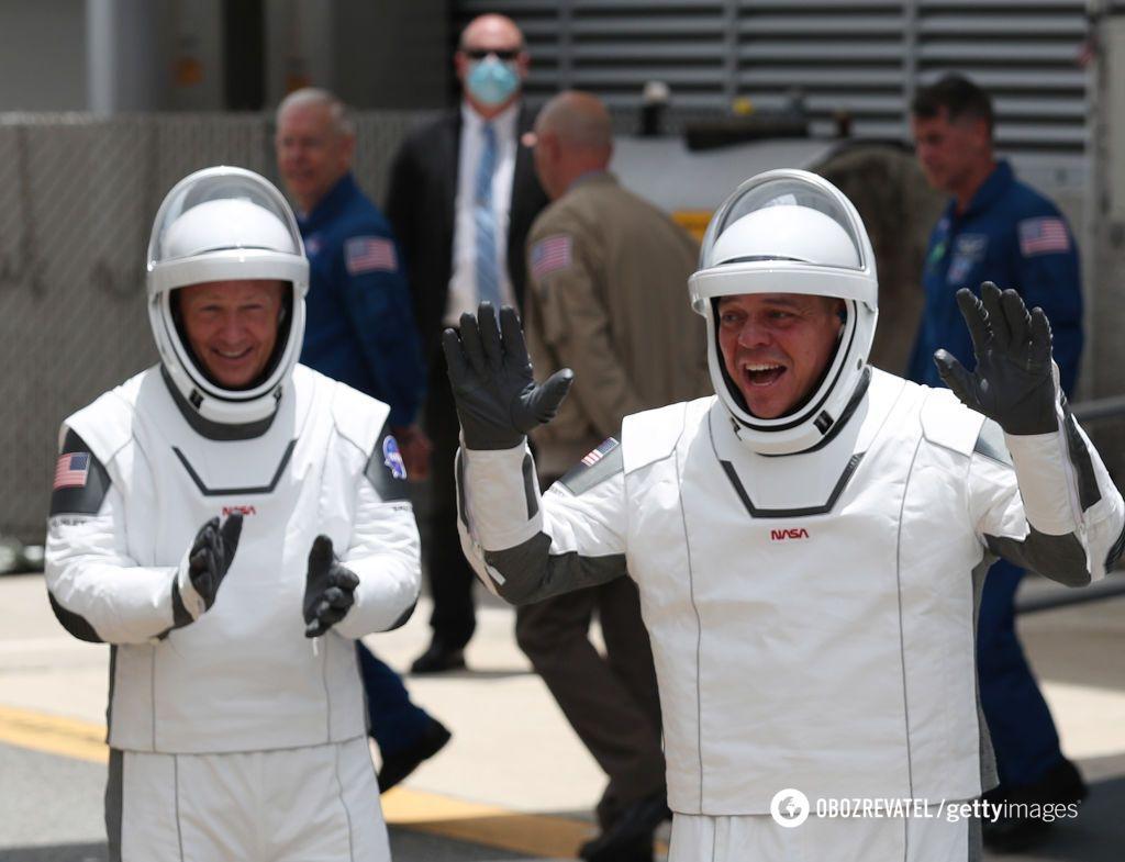 Астронавты Даг Херли и Боб Бенкен