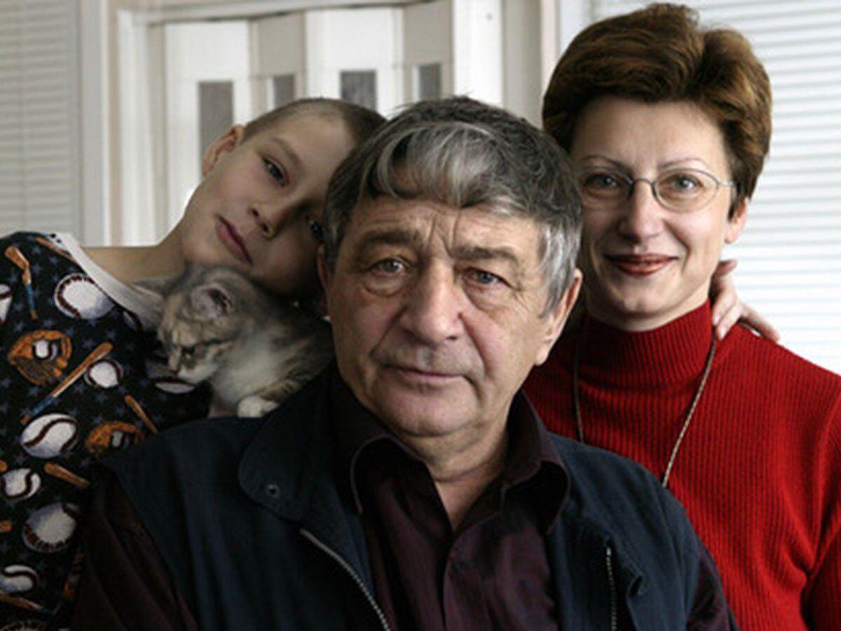 Эдуард Успенский с дочерью