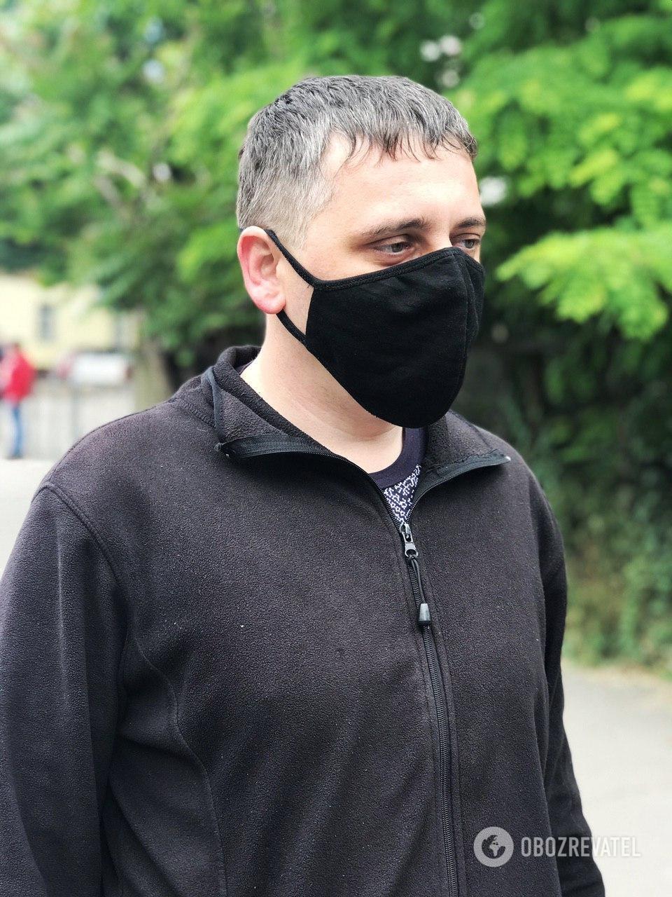 Заведующий сектором контроля Иван Васючков