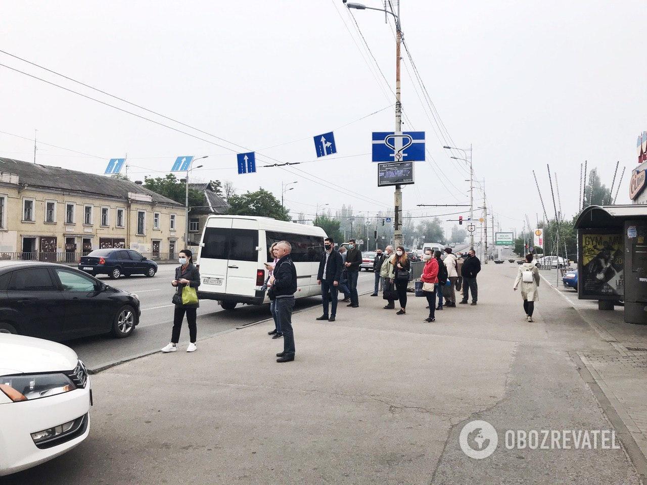 Рейд на проспекте Слобожанский в Днепре