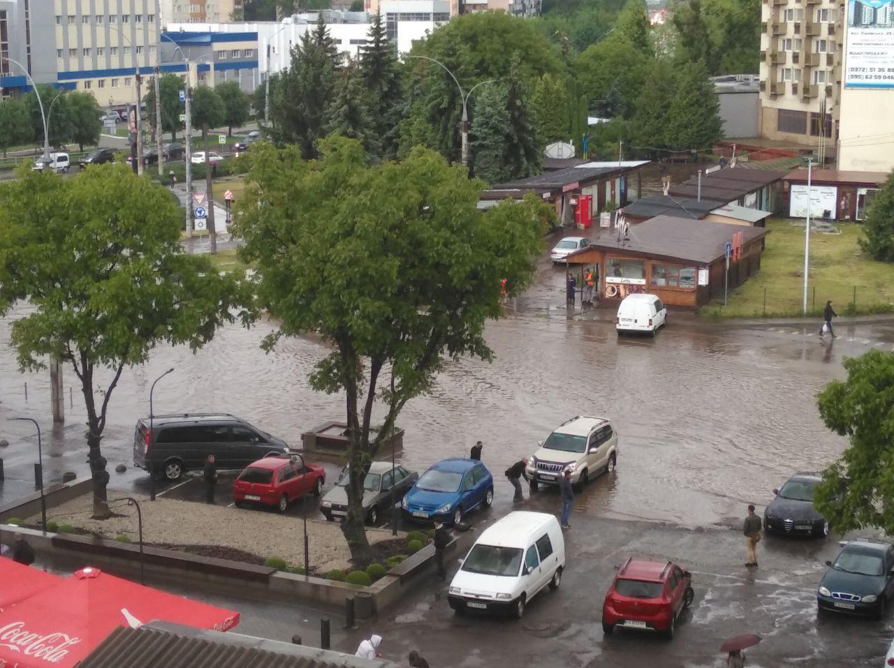 Негода в Чернівцях
