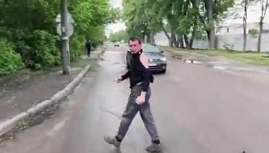 Ветеран провчив водія-хама