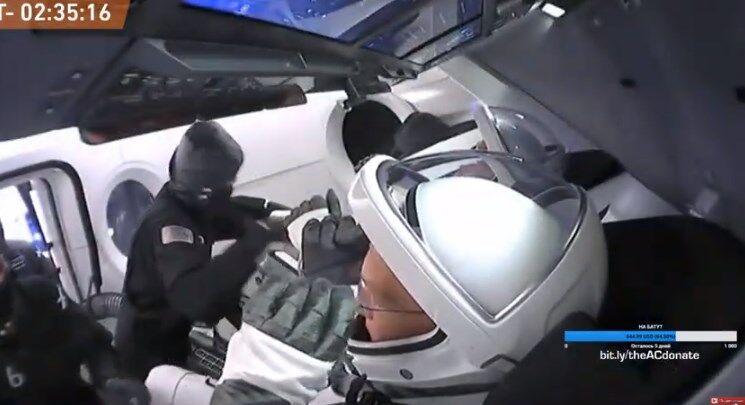 SpaceX впервые отправит астронавтов на орбиту Земли: онлайн-трансляция исторического запуска