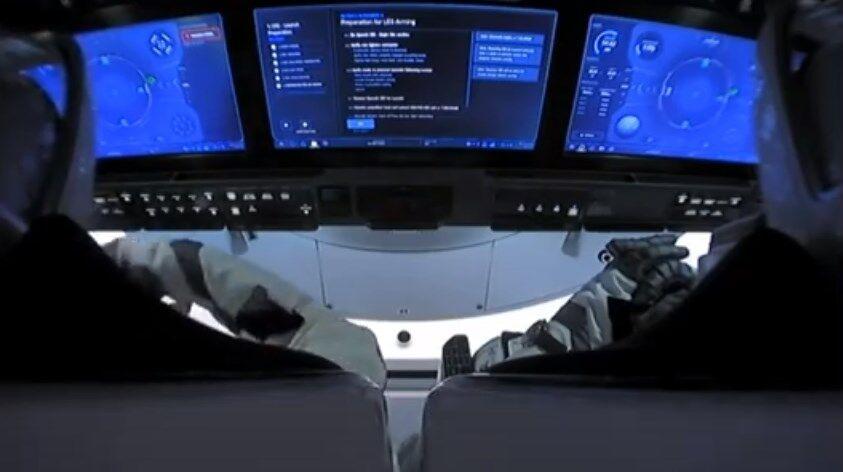 Скриншот видео NASA