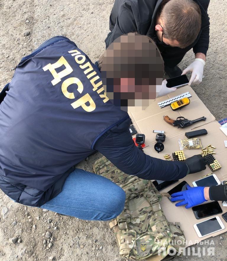 Затримання банди кілерів в Одесі
