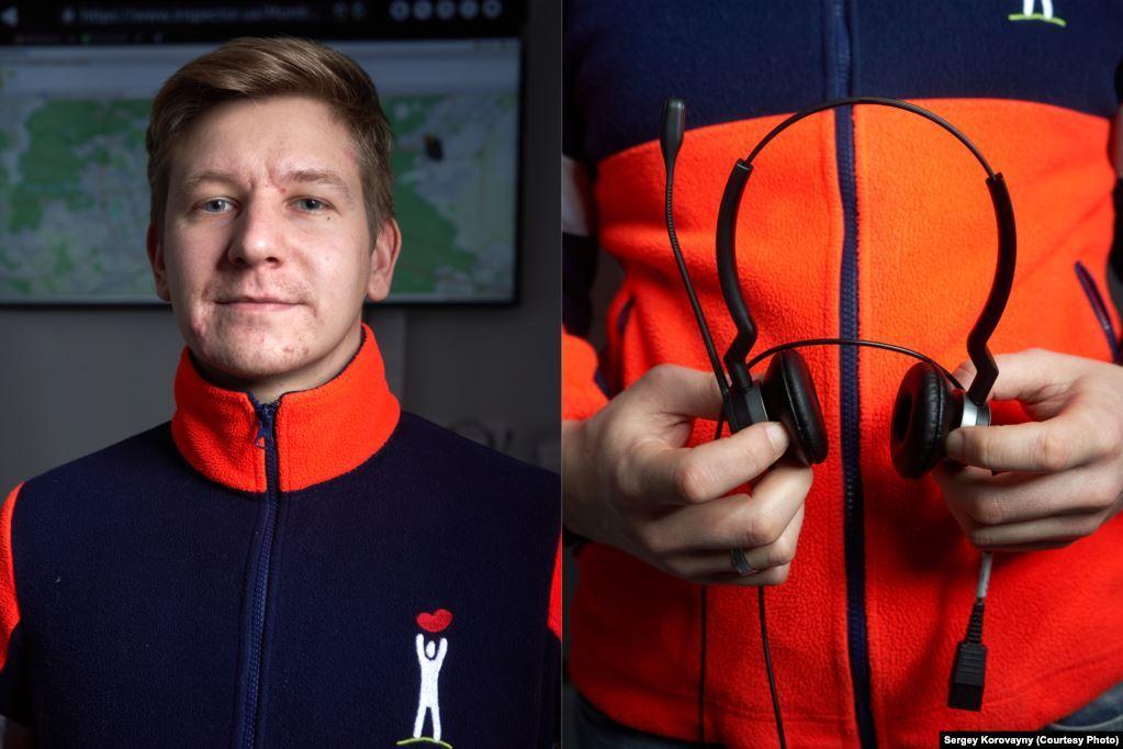 Вадим Каштанов, м. Київ. Працює диспетчером служби екстреної допомоги три роки
