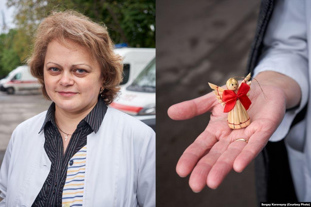 Медична директорка Ганна Мончак, м. Тернопіль. Працює 20 років