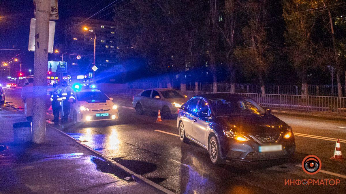 Автомобіль рухався в сторону Слобожанського проспекту
