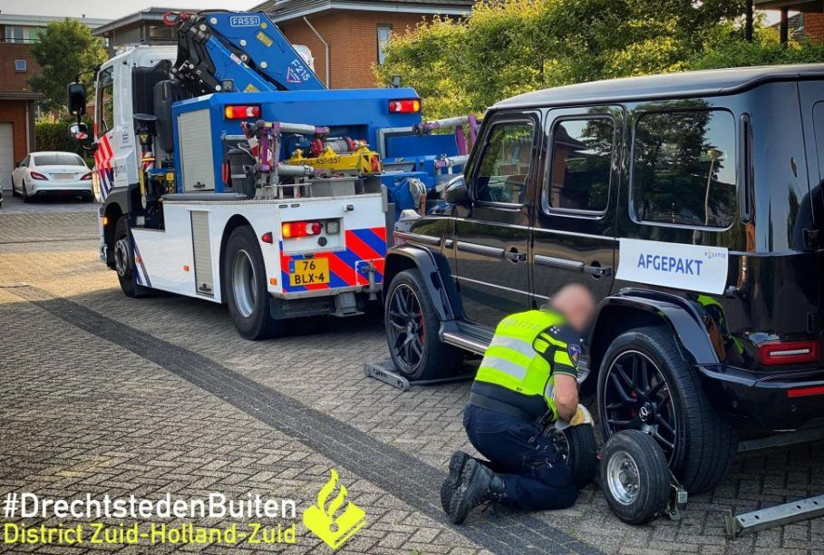 Полиция конфисковала 39 авто