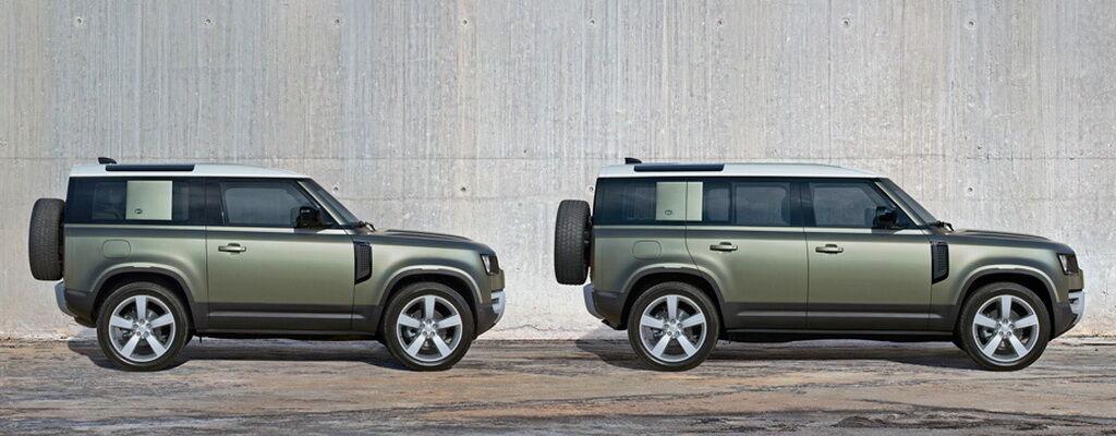2021 Land Rover Defender 90 і 110