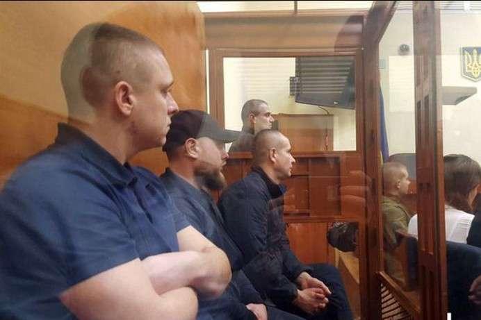 Приходько, Кривошея, Петровець у залі суду