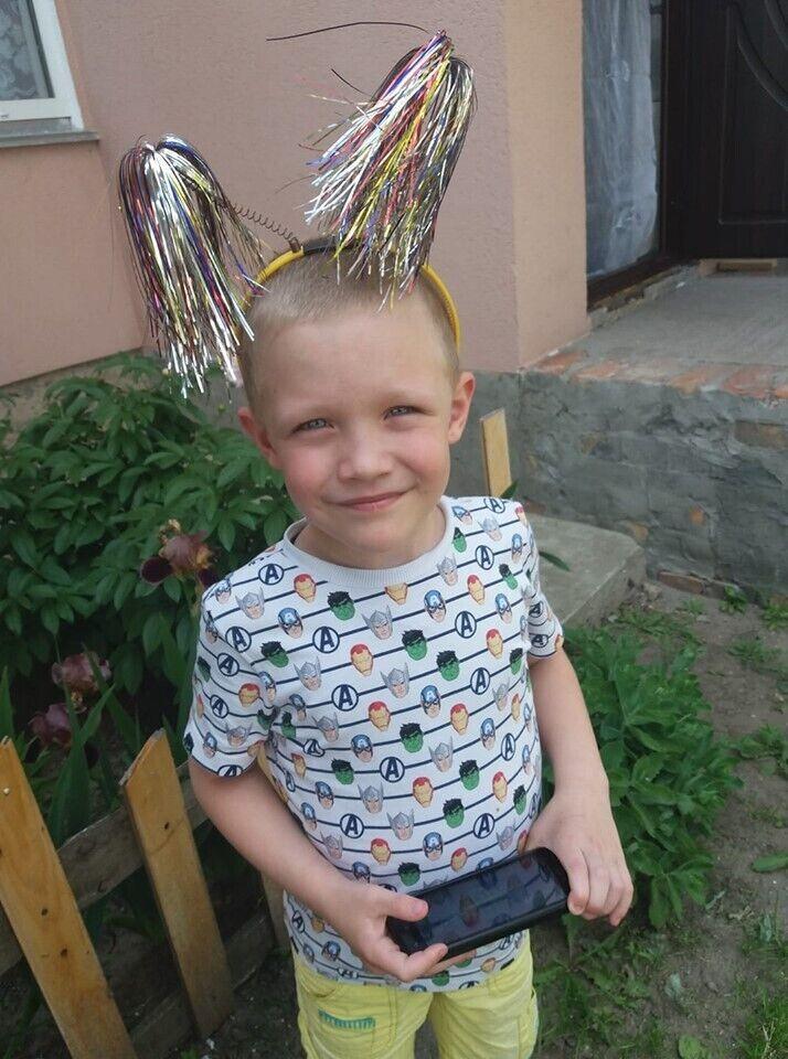 Кирило, одне з останніх фото дитини