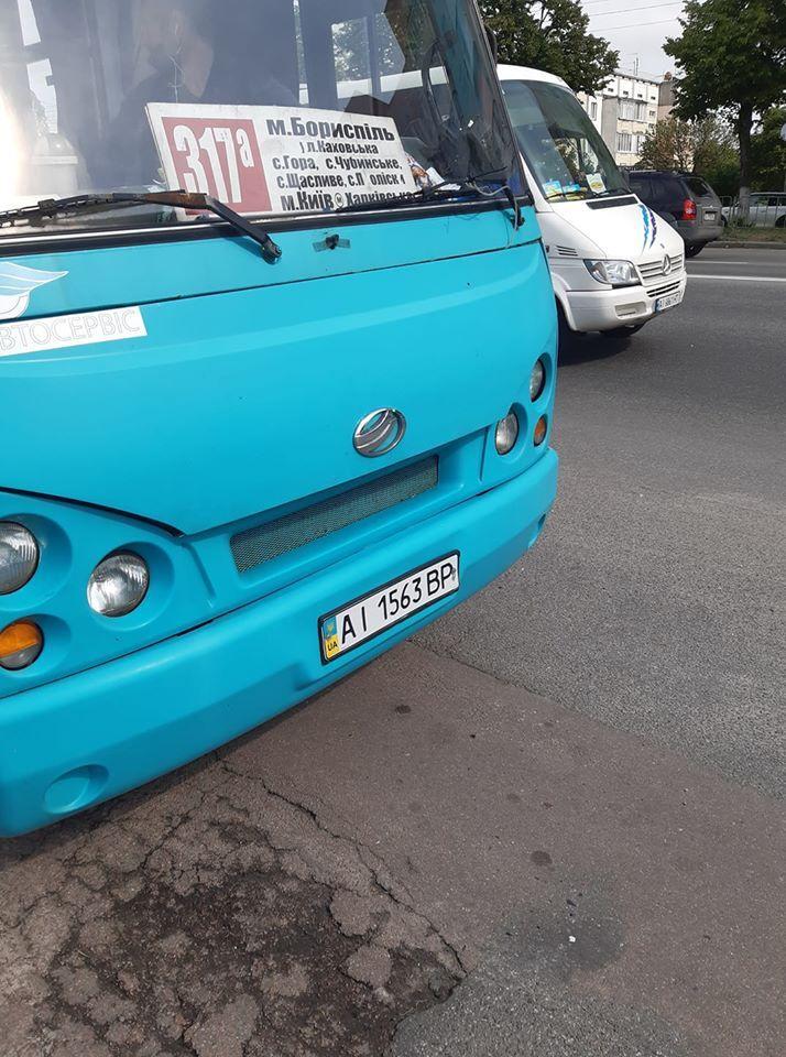 """""""Я тебя туда не посылал!"""" В Киеве маршрутчик отказал в проезде ветерану"""