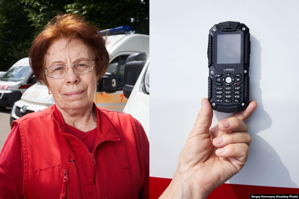 Старша лікарка Олена Понтус, м. Рівне. Працює в службі екстреної допомоги вже 40 років
