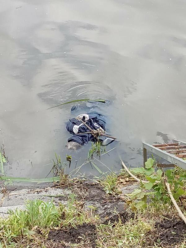 Тіло в річці