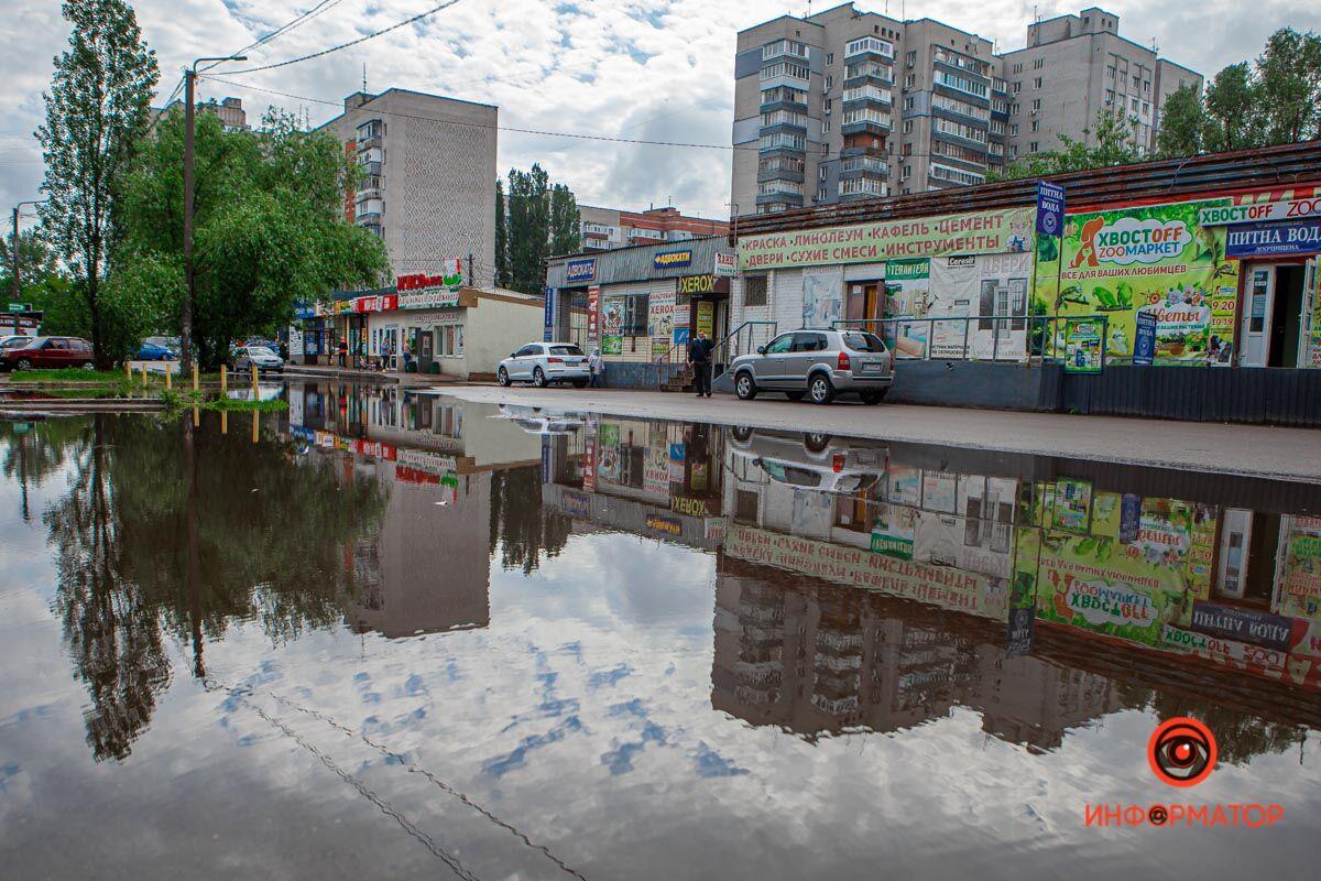 Найсильніше затопило вулицю Коробова