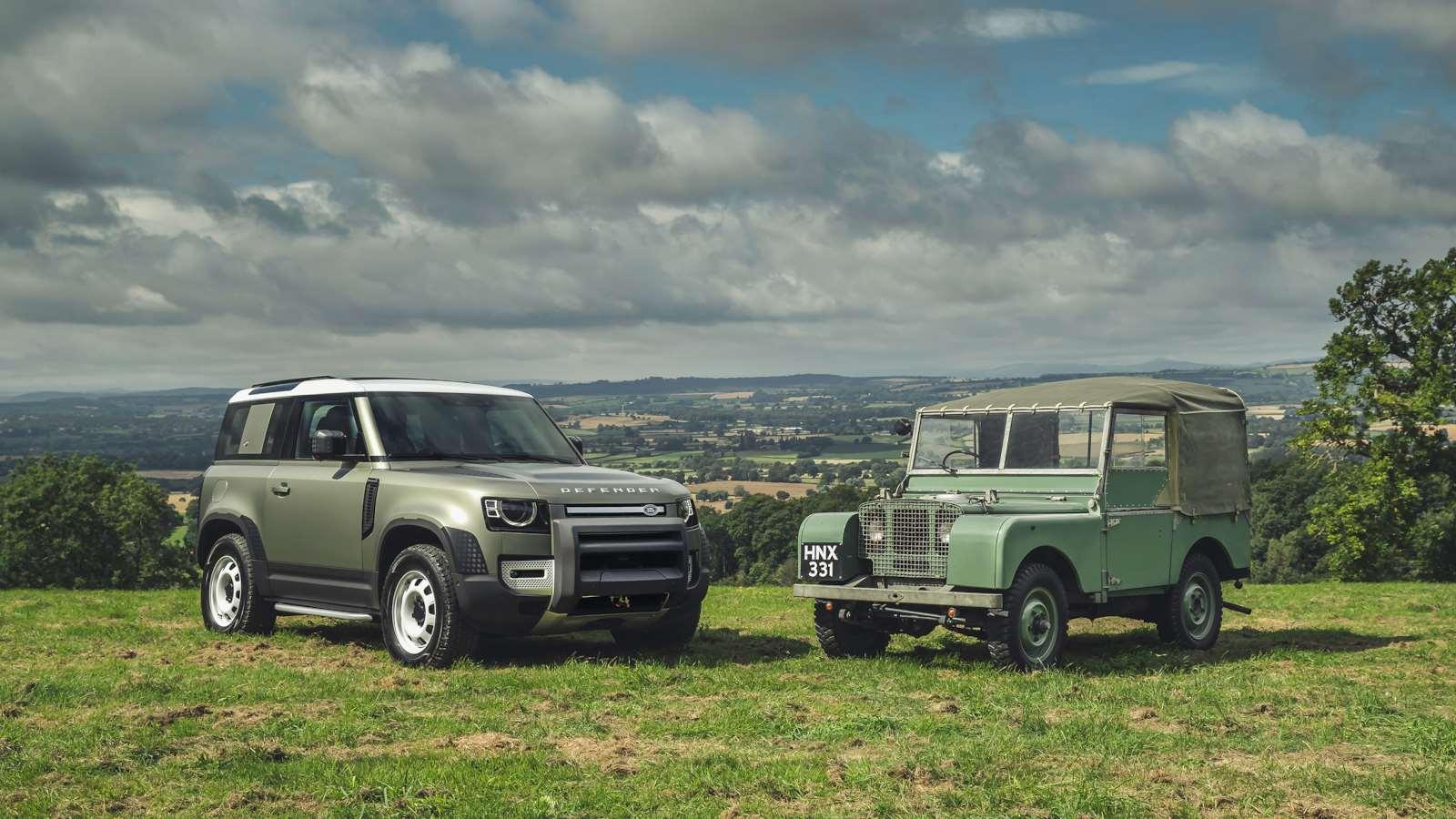 Land Rover Defender випускається з 1948 року