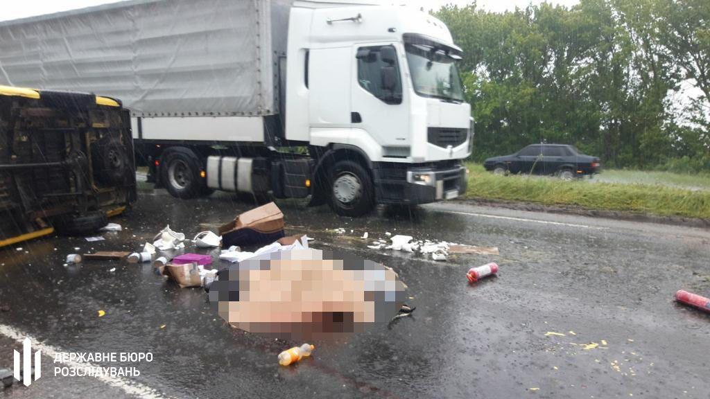 На Полтавщині сталася ДТП за участю поліцейських: один загинув