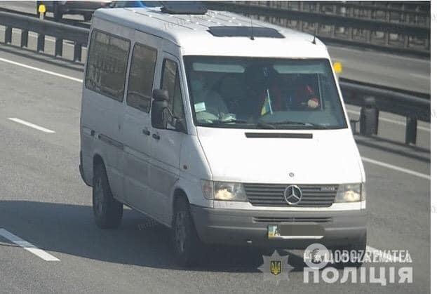 Авто, на которых скрылись нападавшие в Броварах