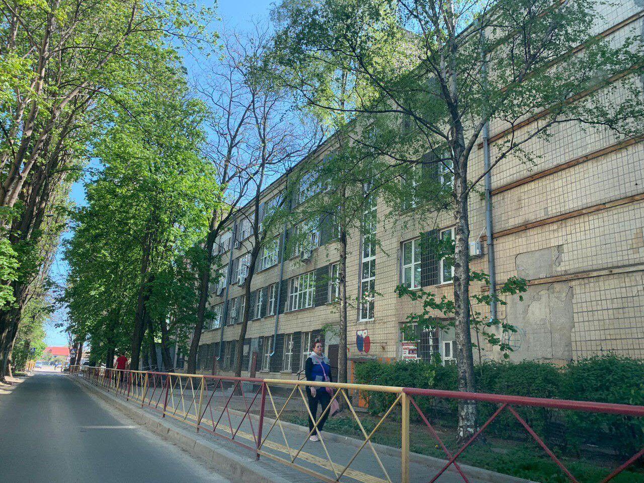 Заставне будівлю на ул.Варненська, 21-е