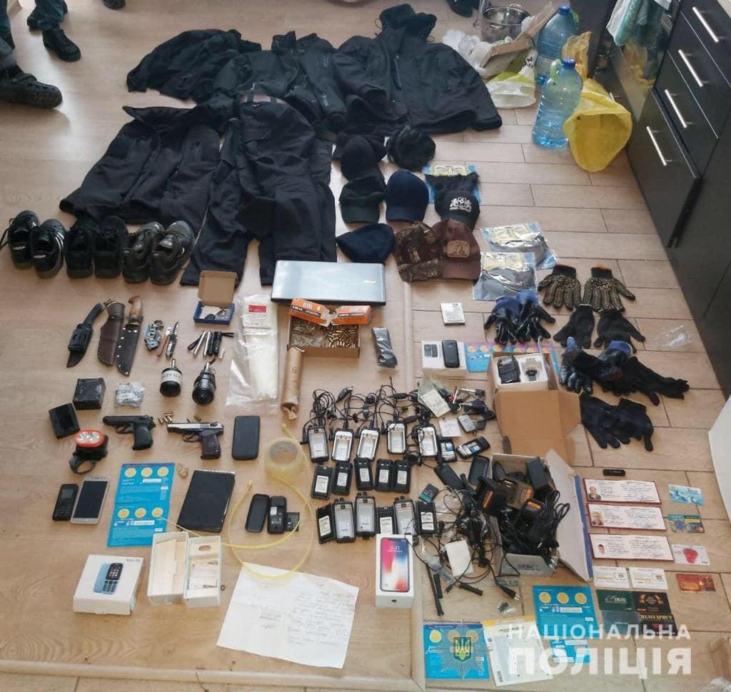 На Киевщине банду заподозрили в масштабных нападениях на предприятия
