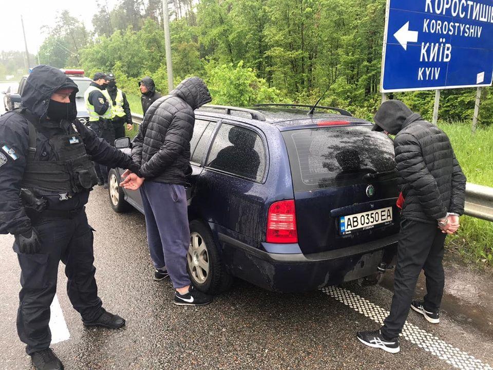 Затримання учасників перестрілки в Броварах