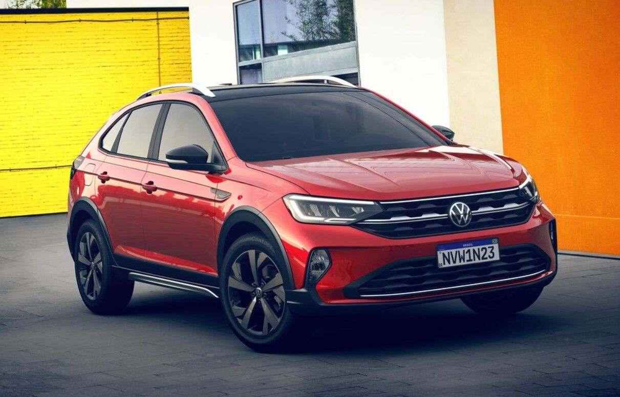 VW Nivus 2021 представлен официально