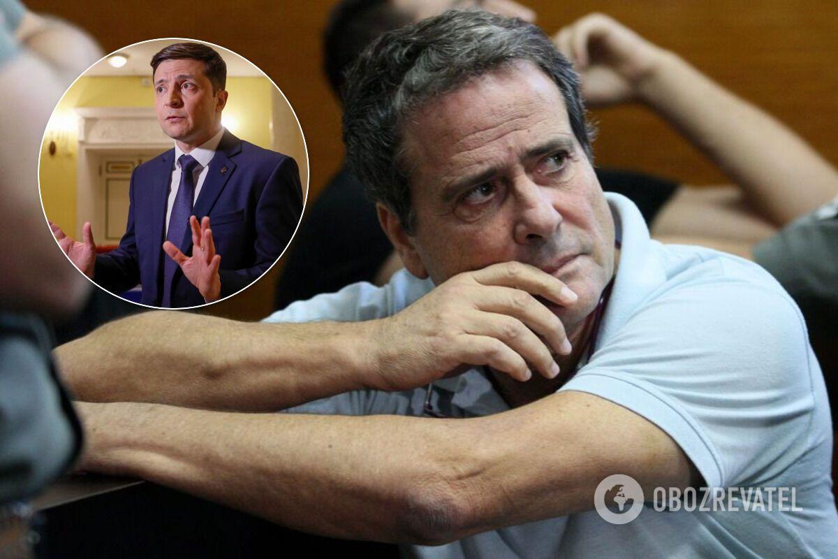 Владимир Зеленский и Дуду Топаз