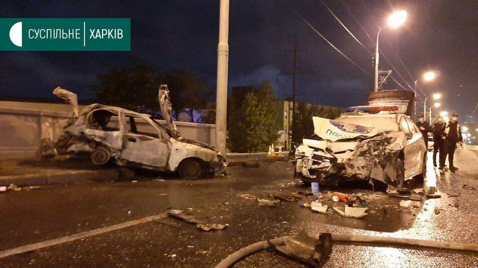 Смертельна ДТП з поліцейськими у Харкові